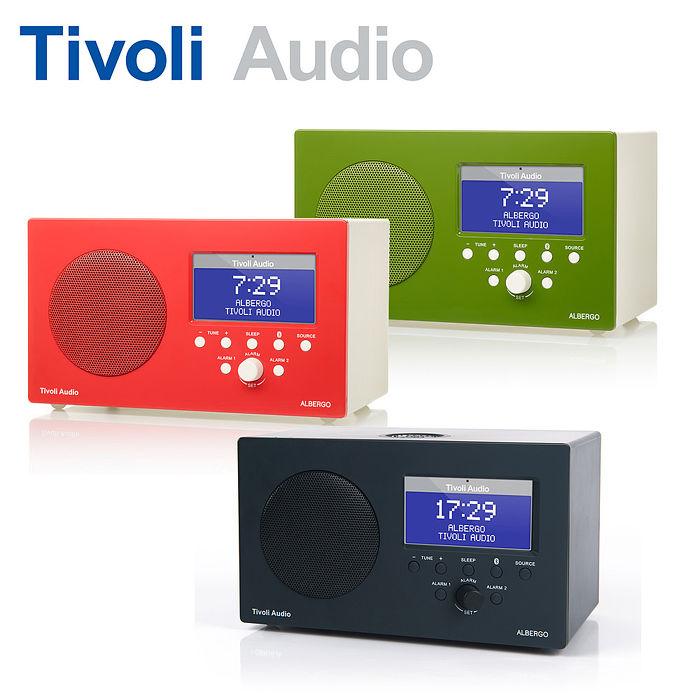 (活動)Tivoli Audio Albergo 藍牙鬧鐘收音機喇叭黑色