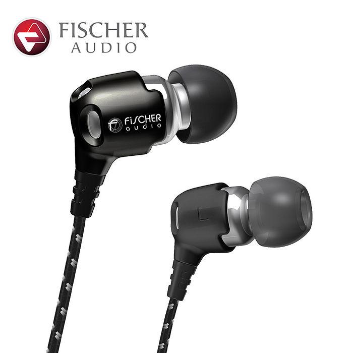 Fischer Audio 名家系列 Consonance 耳道式耳機(黑色)