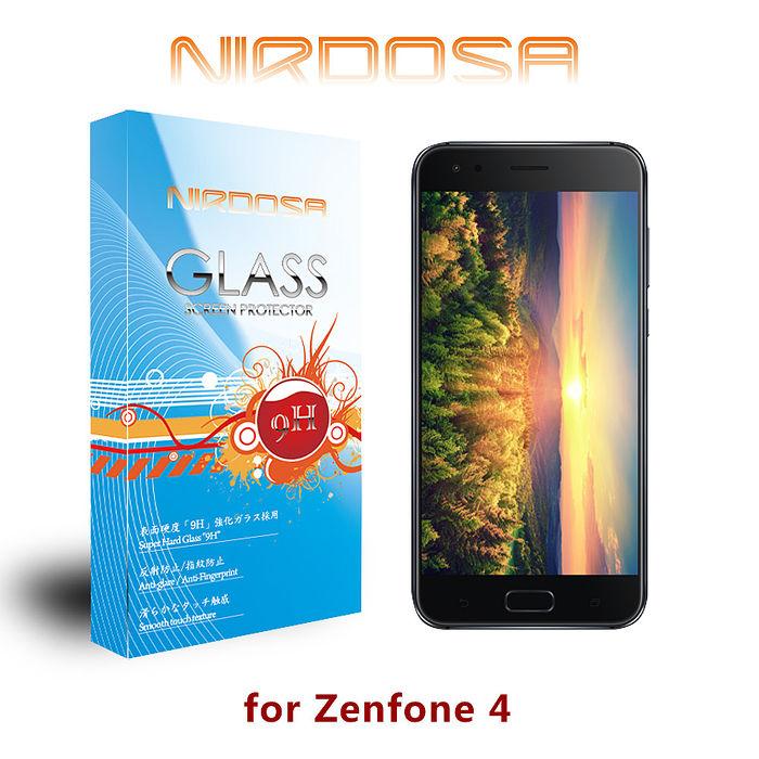 NIRDOSA ASUS Zenfone 4 (5.5吋) ZE554KL 9H 0.26mm 鋼化玻璃 螢幕保護貼 2017