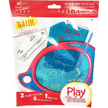 美國Boogie Board Play n Trace兒童繪畫板電子透明描寫板 / 塗鴉卡開心農場