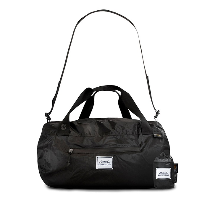 Matador 鬥牛士 Transit16 Pocket Duffle 迷你摺疊側背旅行袋-黑