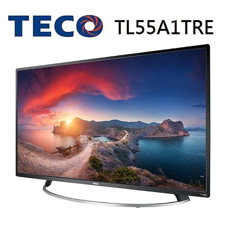 【福利品 TECO東元】55型水燦光IPS+DTS音效 液晶顯示器 TL55A1TRE+TS1308TRA(含基本安裝)