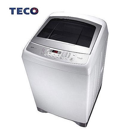 【TECO東元】(福利品)13kg超音波單槽變頻洗衣機-W1391XW(含標準安裝/拆箱定位/舊機回收/抬上樓/免運費)