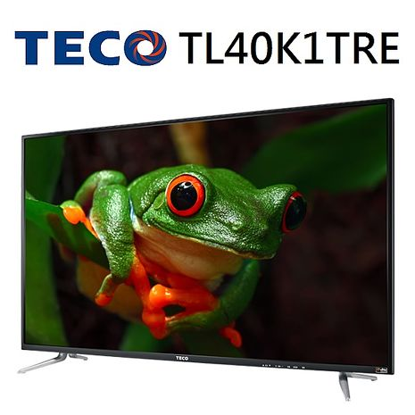 【TECO東元】40型水燦光IPS+DTS音效 液晶顯示器-TL40K1TRE+TS1312TRA1(含視訊盒)