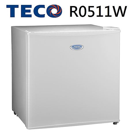 【TECO東元】50L單門小冰箱-R0511W