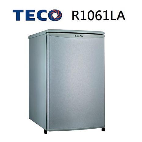 【福利品 TECO東元】91L 單門小鮮綠冰箱-R1061LA