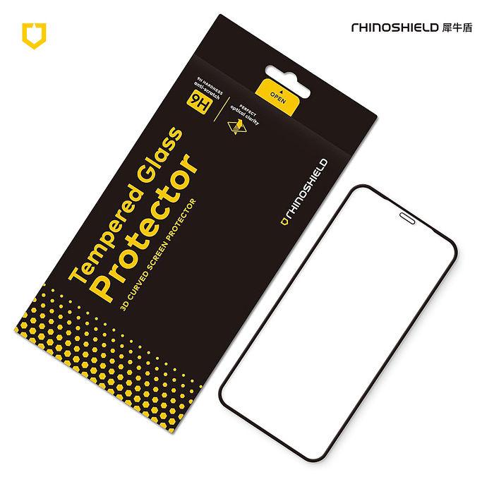 犀牛盾 iPhone 11/11 Pro/11 Pro Max 9H 3D滿版玻璃保護貼