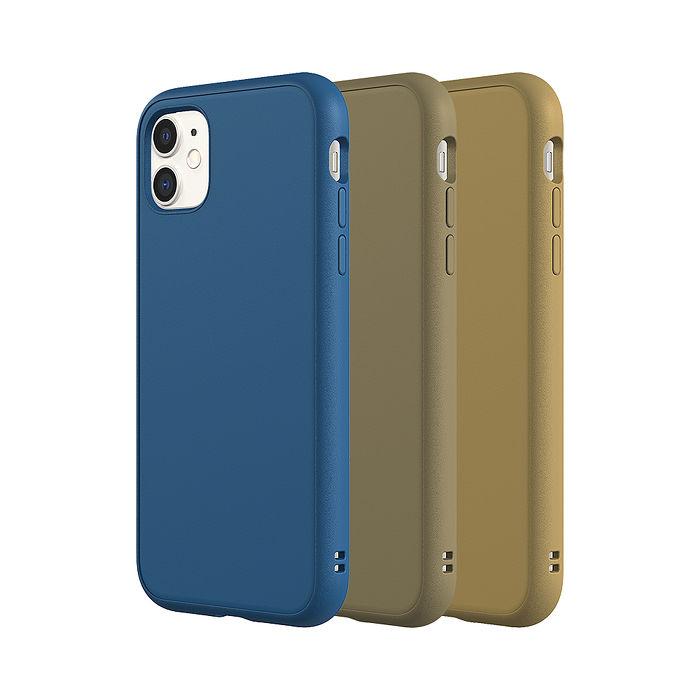 犀牛盾 iPhone 11/11 Pro/11 Pro Max  Solidsuit 防摔背蓋手機殼-經典款(2020新三色)雀藍/可可棕/卡其