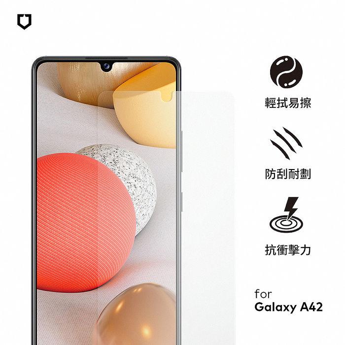 犀牛盾 Samsung Galaxy A42 (非滿版)耐衝擊手機保護貼-正面