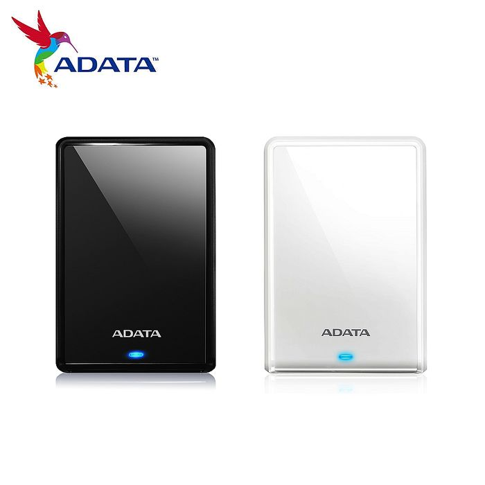 ADATA威剛 HV620S 2TB USB3.1 2.5吋行動硬碟黑色