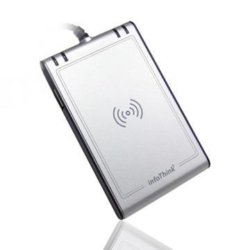 InfoThink 【晶片卡/感應卡雙介面讀卡機】