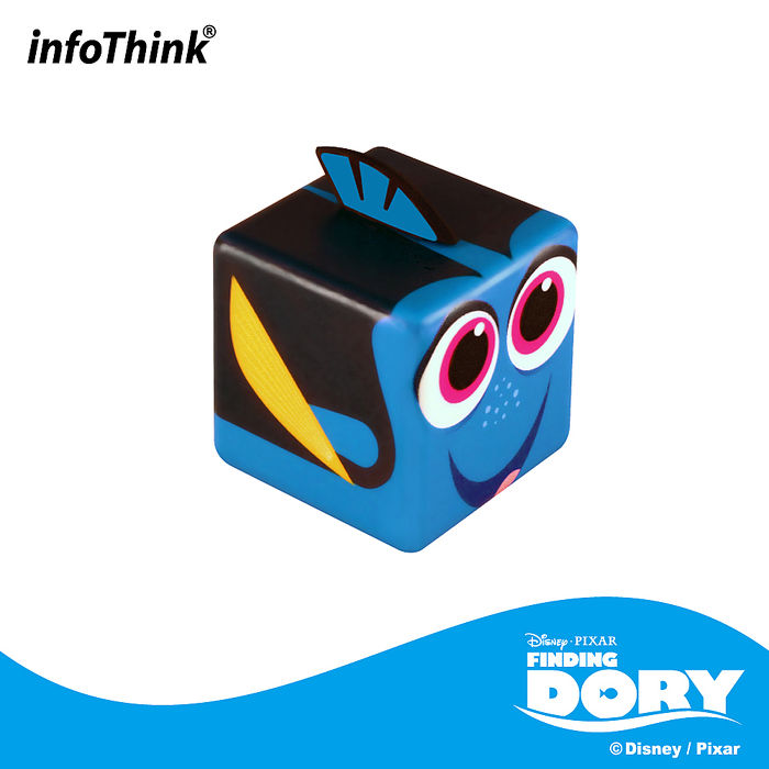 InfoThink 海底總動員QB造型隨身碟16GB - 多莉DORY