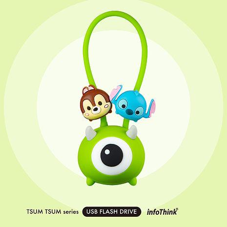 InfoThink TSUM TSUM 公仔吊飾隨身碟32GB - 大眼仔
