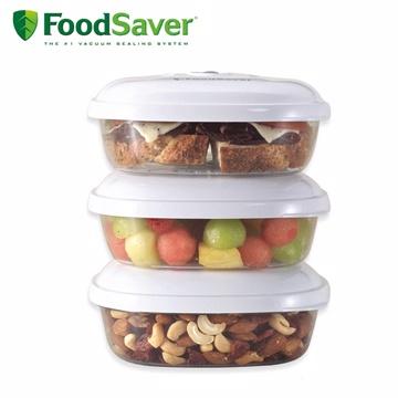 美國FoodSaver-真空三明治盒3入組