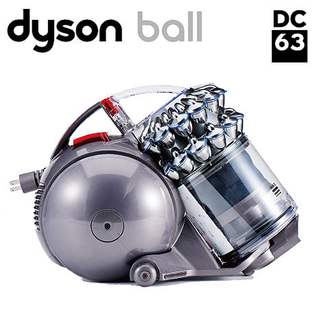 領券折千Dyson DC63 motorhead 雙層氣旋頂級電動吸頭款吸塵器(銀紅款)
