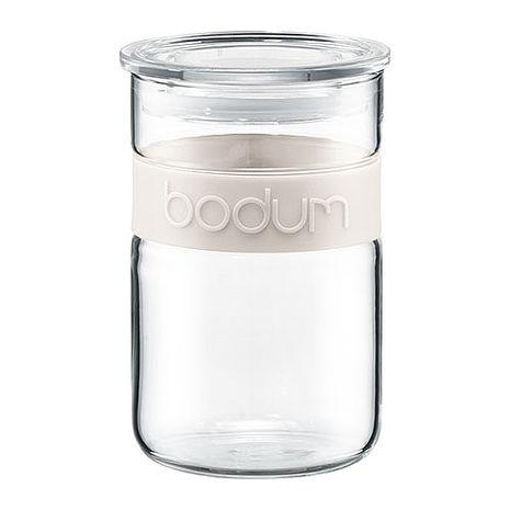丹麥BODUM PRESSO儲物罐600CC(兩色可選)白