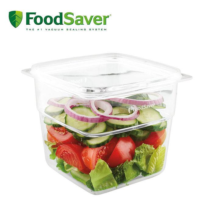 (福利品)美國FoodSaver 真空密鮮盒1入(大-1.8L)