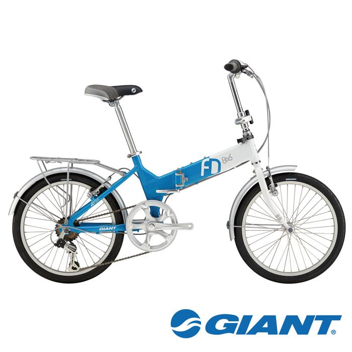 GIANT FD806 都會通勤小折 藍/綠/紅 (顏色於門市領車時選擇)