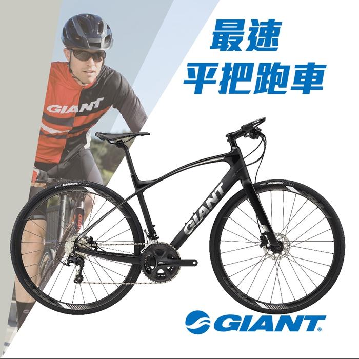 GIANT FASTROAD COMAX 1 平把健身運動跑車2018