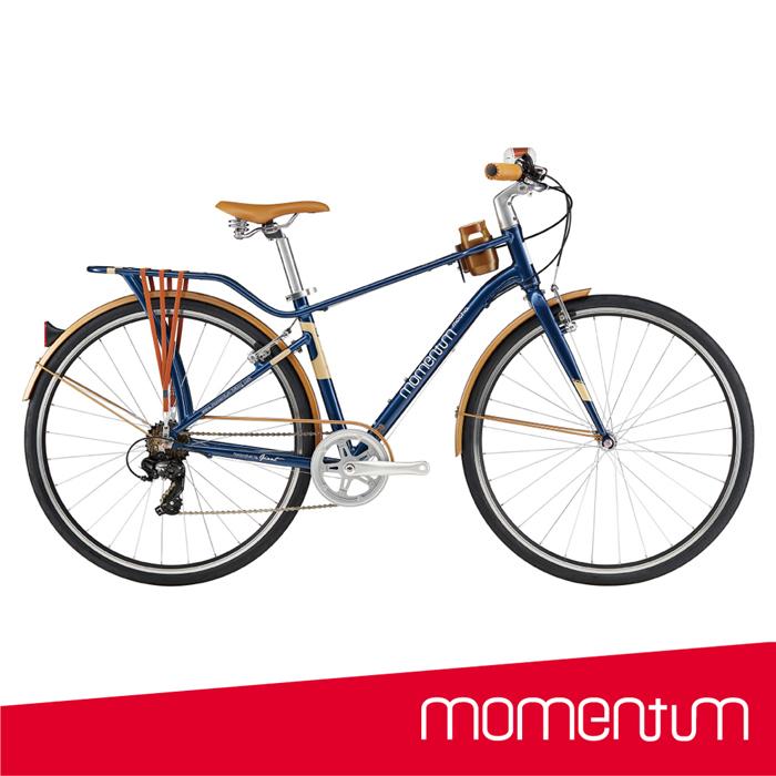 momentum iNEED MOCHA深藍 都會騎遊咖啡車