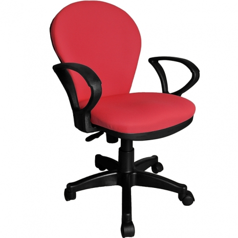 【凱堡】3M防潑水彈力泡綿辦公椅/電腦椅(紅)【A11060-02】