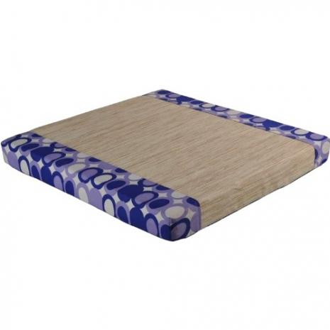 【凱堡】泰納紙纖立體坐墊(藍)