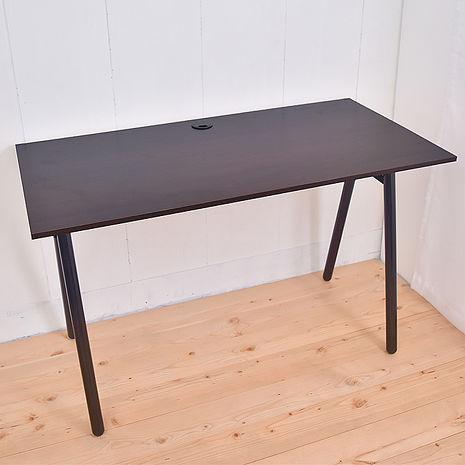 【凱堡】桌子書桌 A字工作桌電腦桌(胡木)-居家日用.傢俱寢具-myfone購物