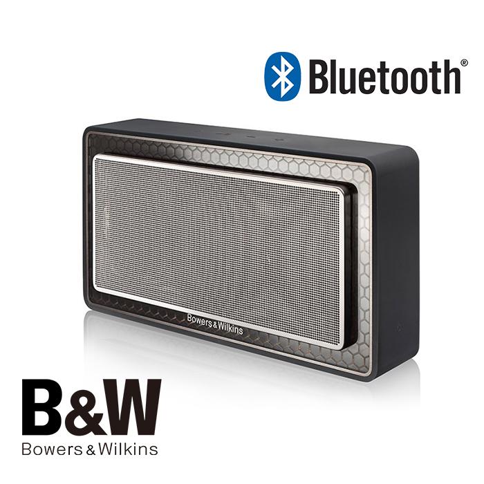英國 B&W Bowers & Wilkins T7 藍芽喇叭 *時尚黑* (公司貨)