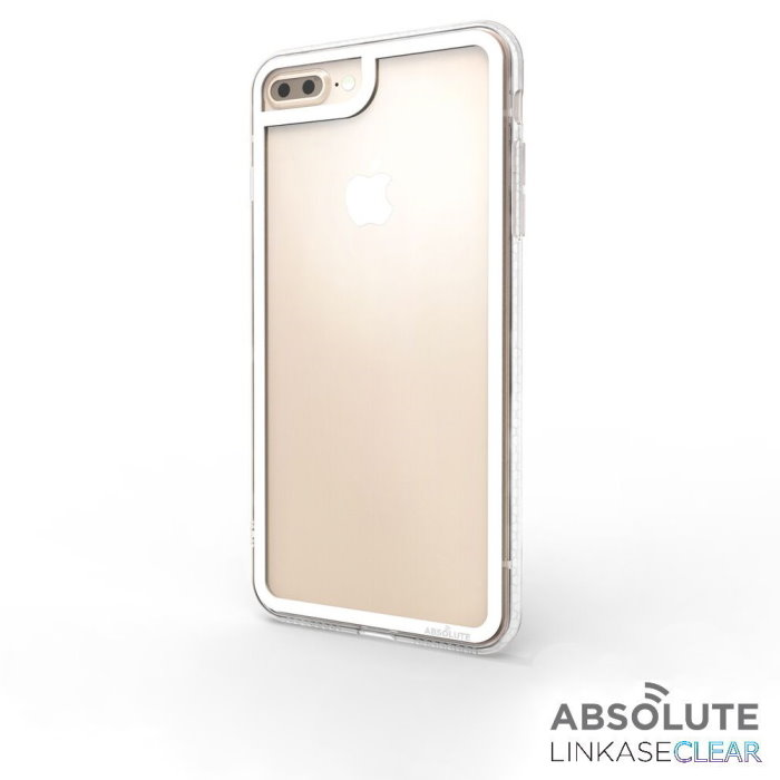 LINKASECLEAR iPhone 7/8Plus  5.5吋專用 大猩猩9H奈米玻璃機身手機殼(2x抗衝擊)
