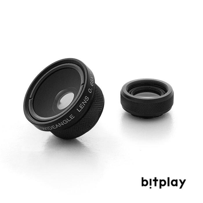bitplay 標準廣角鏡頭Wide Angle+微距鏡頭Macro Lens 專業鏡頭組(2 in 1)