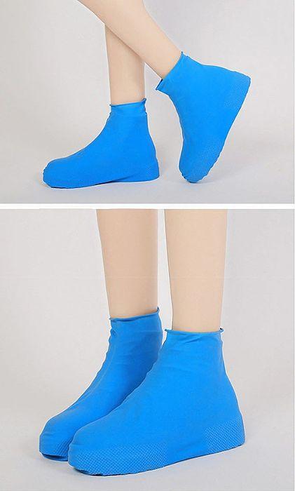 矽膠高筒防雨鞋套