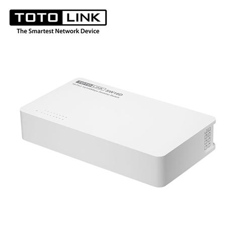 TOTO LINK 【SW16D】桌上型16埠乙太網路交換器