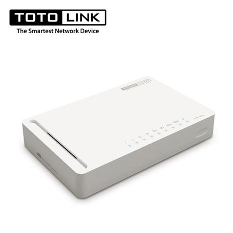TOTO LINK 【S808G】8埠Giga極速乙太網路交換器