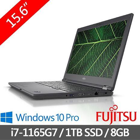 Fujitsu富士通 Lifebook  E5511A-PB721 15.6吋 FHD 筆電 日本原裝第11代Intel  黑色