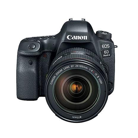 【預購】CANON EOS 6D Mark II EF 24-105mm F4L II 單眼相機 台灣代理商公司貨