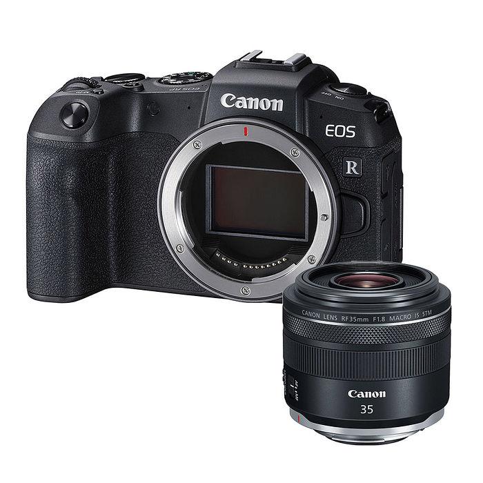 【預購】CANON EOS RP BODY + RF 35mm F1.8 MACRO IS STM 全片幅 無反光鏡 單眼相機 台灣代理商公司貨