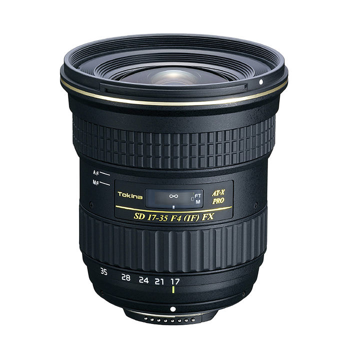 TOKINA AT-X 17-35mm F4 PRO FX 全片幅 鏡頭 正成公司貨