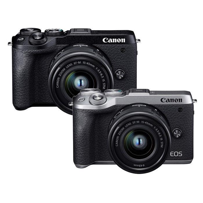【預購】CANON EOS M6M2 M6 Mark II  EF-M 15-45mm 微單眼 單眼相機 台灣代理商公司