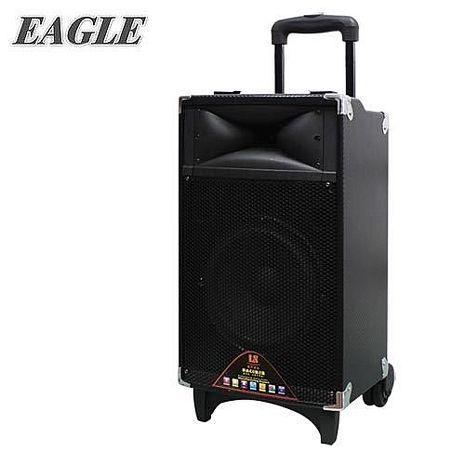 【EAGLE 】行動藍芽拉桿式擴音音箱(ELS-3008)送原廠動圈麥克風二支(EDM-F1)