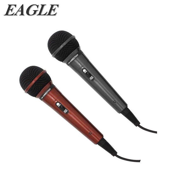 【EAGLE】動圈式有線麥克風(EDM-F1)絕色黑/魔力紅魔力紅