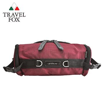 【TRAVEL FOX 旅狐】經典防潑水臀/腰/斜背包 TB236-04 紅色