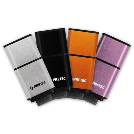 Pretec 希旺科技 i-Disk Mambo USB3.0 32GB 曼波碟Silver