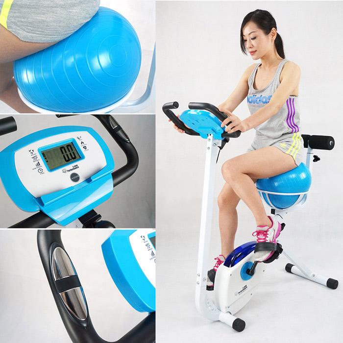 【 X-BIKE 晨昌】瑜珈球健身車 空氣感坐墊,輕鬆扭動屁屁不痛痛~塑腰 美體 有氧 健身 X350