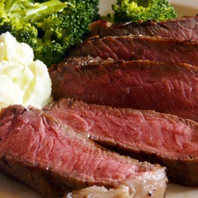 買一送一 好神紐西蘭自然放牧牛肋眼沙朗牛排10片組(120g±10%/片《共20片》)