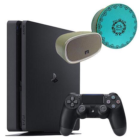 PS4 Slim 500GB主機 《贈:金冠藍芽喇叭》