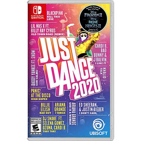 任天堂 Switch Just Dance 舞力全開 2020 (中/英版)