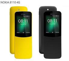 NOKIA 8110 4G香蕉機 經典復刻版 2.4吋螢幕/可拆式電池/200萬畫素/曲面滑蓋
