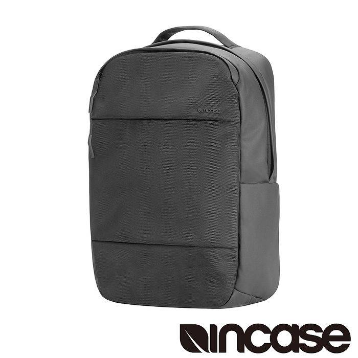 Incase City Compact Backpack with 1680D 16吋 單層筆電後背包 (黑)
