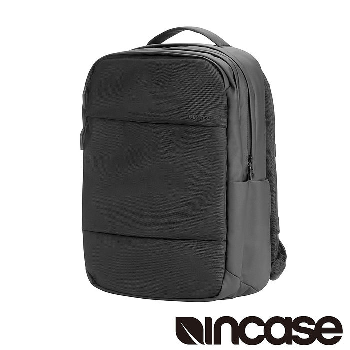 Incase City Backpack with 1680D 16吋 雙層筆電後背包 (黑)