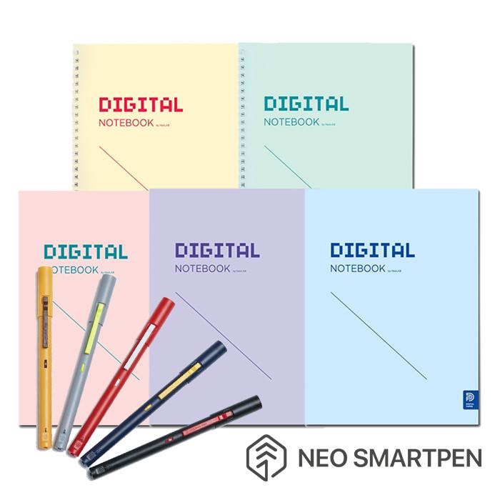 Neo smartpen M1智慧筆+數位學習筆記5本組